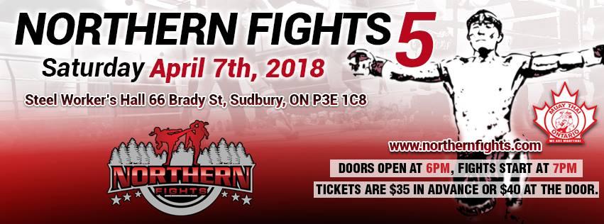 northern fights sudbury MMA ritchie rich