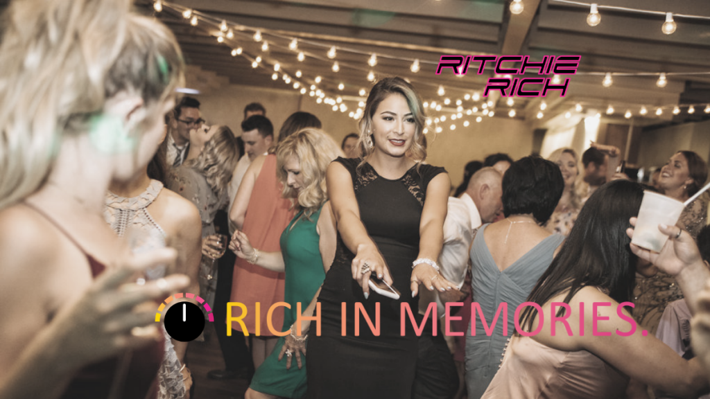 Wedding Big & Rich DJ Service Ritchie Rich #RichInMemories Disc Jockey Sudbury
