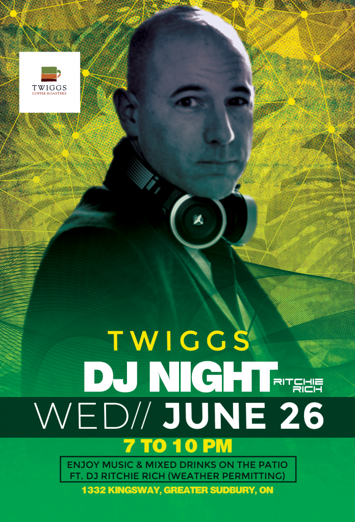 Twiggs Coffee DJ Night DJNight DJ Ritchie Rich